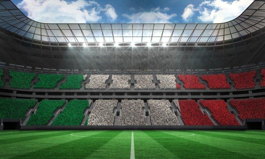 italiensk fodbold stadion