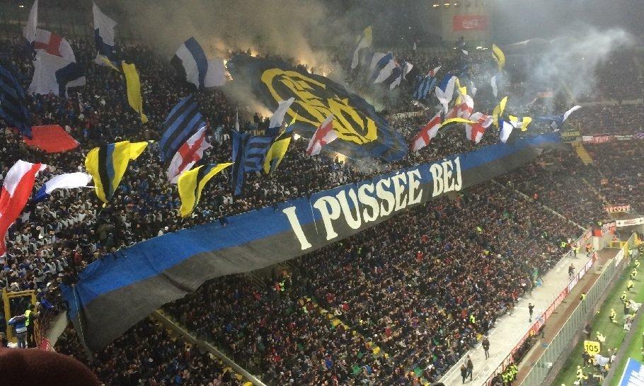 inter fans tifo