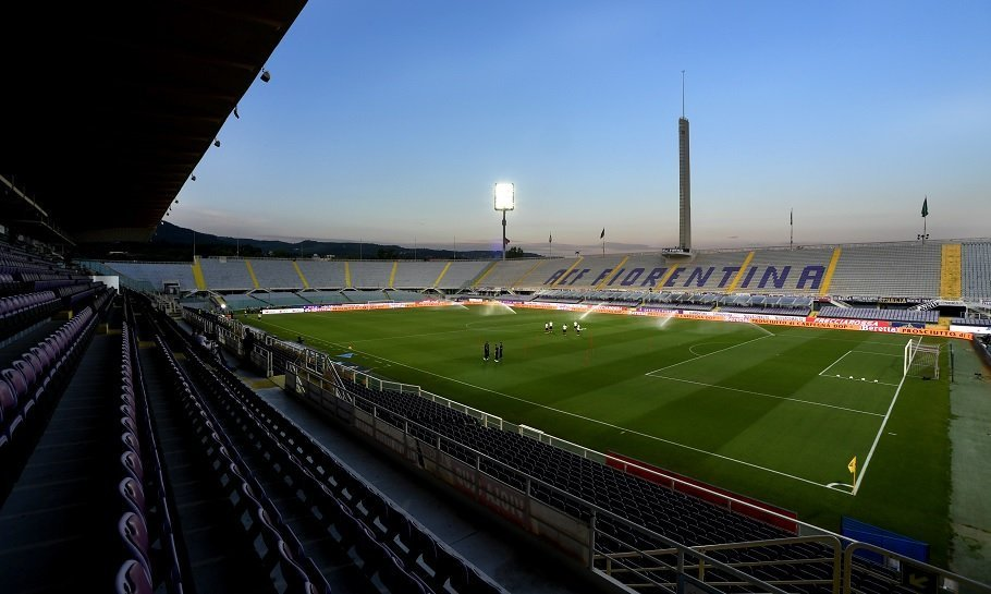 fiorentinas hjemmebane stadio artemio franchi i firenze