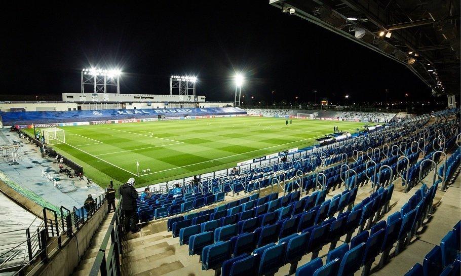 real madrids stadion mens santiago bernabeu er under renovering