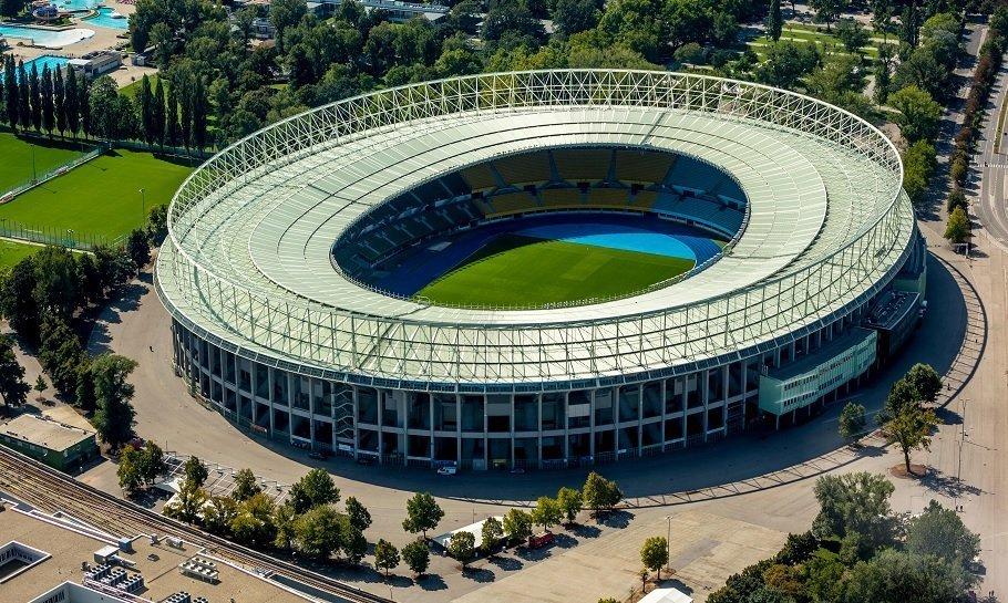 ernst happel stadion i wien, østrig