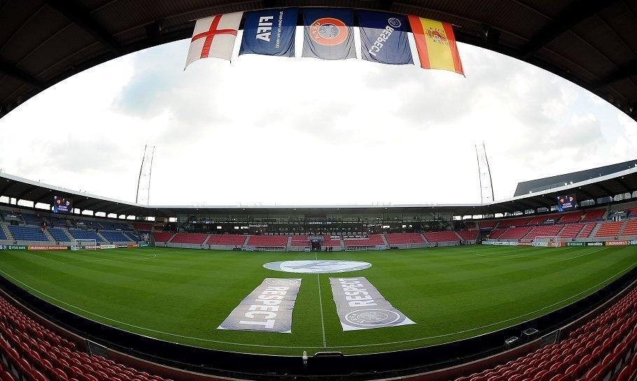 mch arena i herning, som er fc midtjyllands hjemmebane