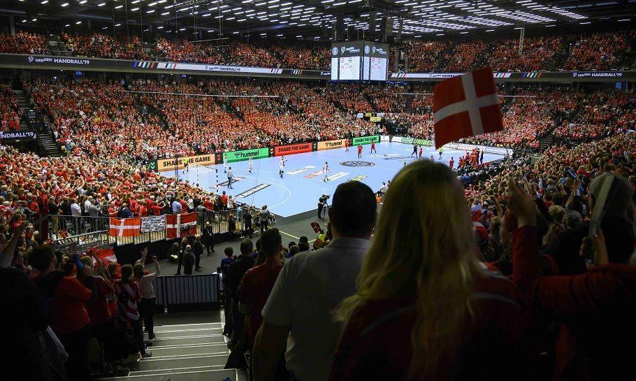håndboldlandskamp jyske bank boxen i herning