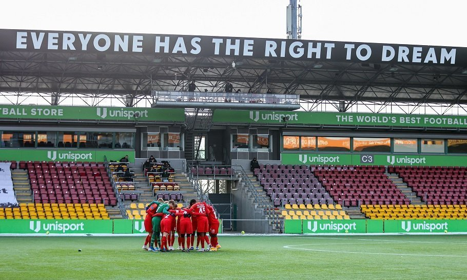 right to dream park fc nordsjællands stadion