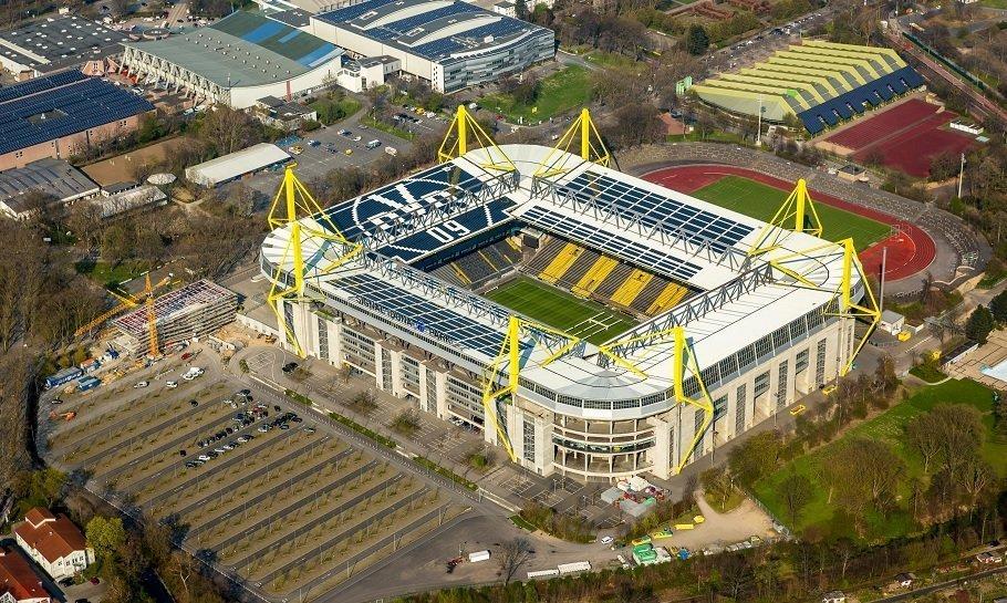 dortmunds stadion, signal iduna park