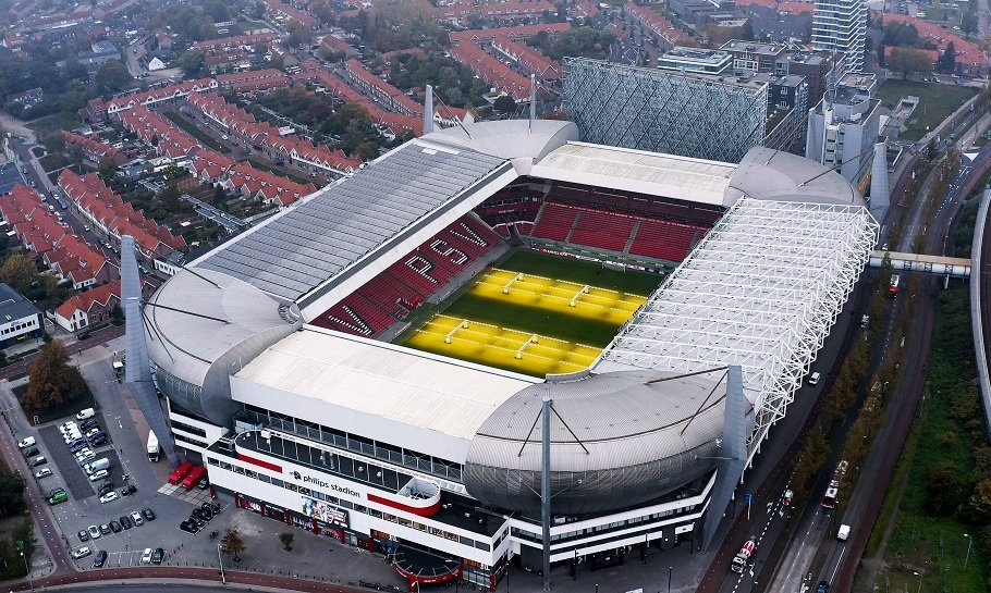 philips stadion, psvs hjemmebane i eindhoven