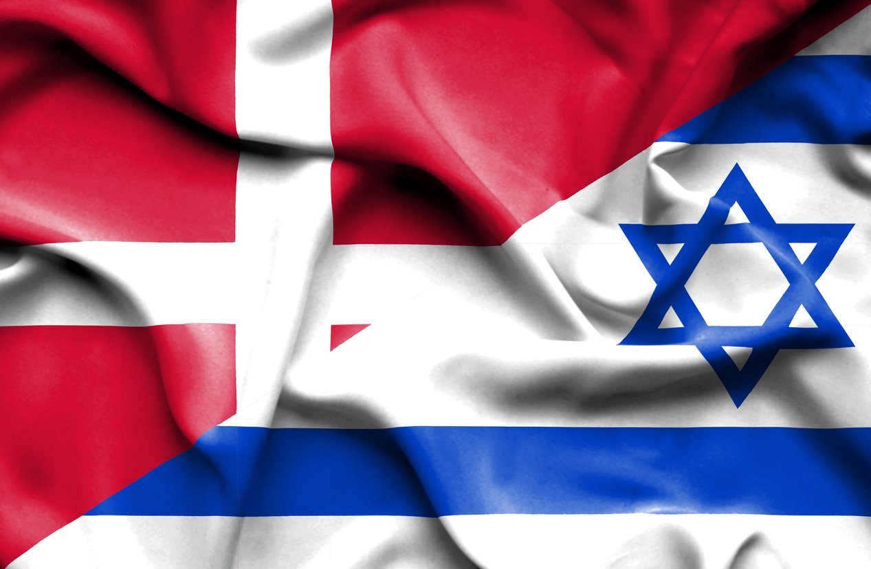 danmark israel flag